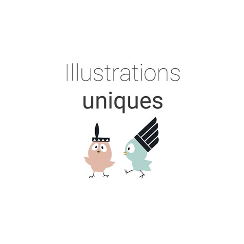 Illustrations uniques